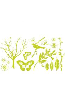 Printing Plate Set -Botanical