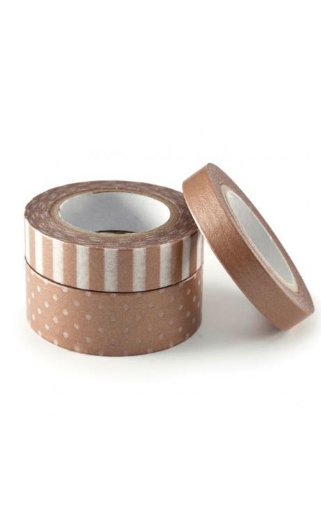 Metallic Washi Tape - Copper