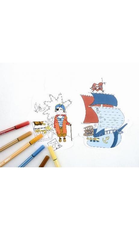 Invitaciones - Pirate