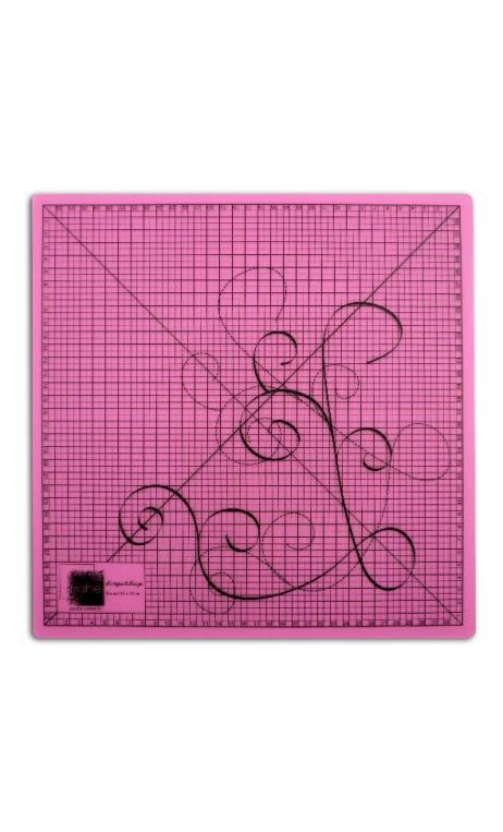 Base de corte 35x35 rosa