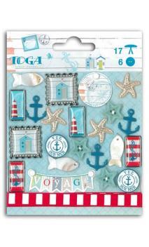 Set adornos Vue sur mer