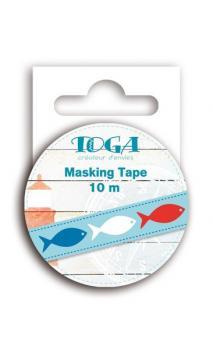 Masking tape peces Vue sur Mer- 10 m