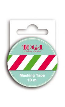 Masking tape bandera italiana- 10 m