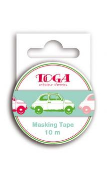 Masking Tape Coches - 10m