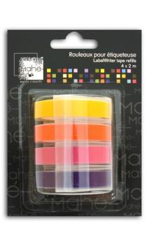 Recambio etiquetadora Mahé 4x2m - colores cálidos