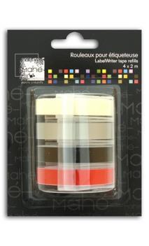 Recambio etiquetadora Mahé 4x2m - colores Estanda