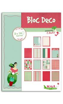 Bloc Deco Italia 15X20 28 hojas
