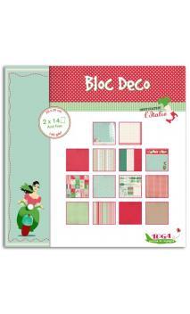 Bloc Deco Italia 20X20 28 hojas