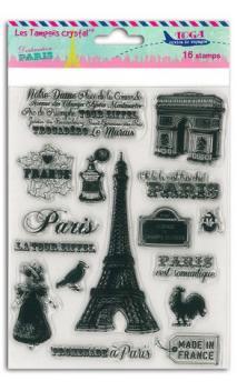 Set sellos Crystal® 14x18 Paris