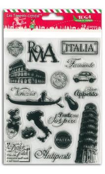 Set sellos Crystal® 14x18 Italia