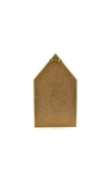 Casa madera 16x27x10cm