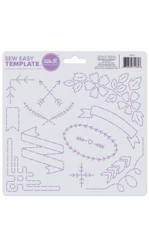 Sew Easy Template - Flourish