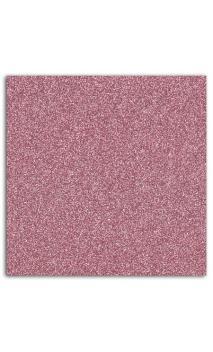 Glitter papel adhesivo 30x30 - Rosa perlado 10f.
