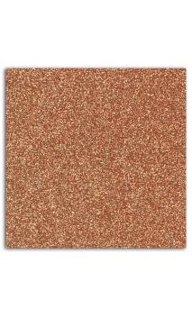 Glitter papel adhesivo 30x30 - Cuivre 10f.