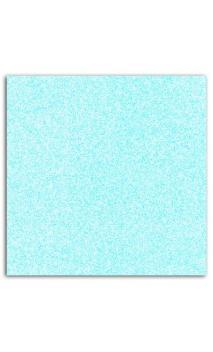 Mahé 30x30 - Glitter papel adhesivo 30x30 - Azul pastel 1 hoja - Pack 5 h.