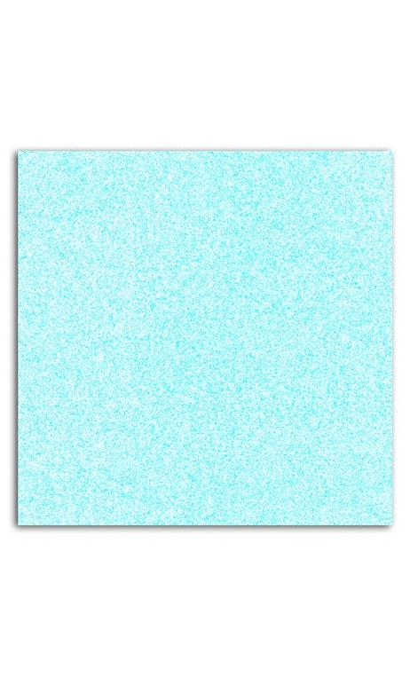 Glitter papel adhesivo 30x30 - Azul pastel 10f.