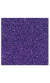 Glitter papel adhesivo 30x30 - Violeta 10f.