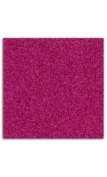 Glitter papel adhesivo 30x30 - Frambuesa 10f.