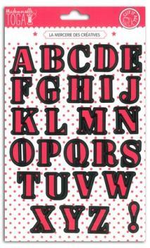 Troquel Alfabeto - 15 x 21 cm