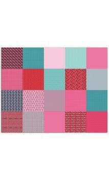 100 papeles Origami 15x15 Kokeshi