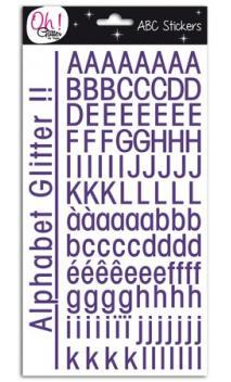 Glitter alfabeto St-Germain-des-Prés - Violeta