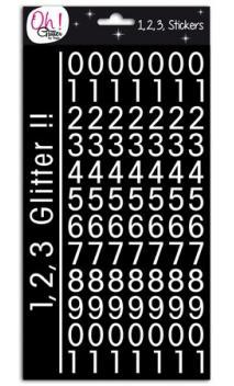 Glitter cifras - St-Germain-Des-Prés - Blanco