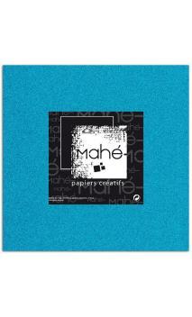 Mahé 30x30 - Glitter adhesivo Azul Fluo 5 hojas