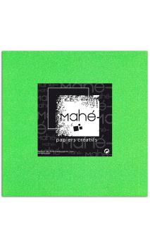 Mahé 30x30 - Glitter adhesivo Verde Fluo 5 hojas