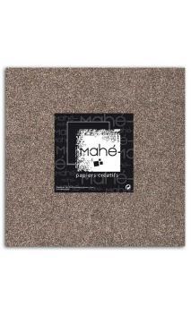Mahé 30x30 - Glitter adhesivo Chocolate 5 hojas