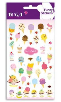 Funny pegatinas TOGA - Ice cream - (Helado)