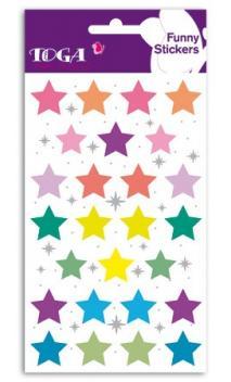 Funny pegatinas TOGA Grandes estrellas - (Estrellas grandes)