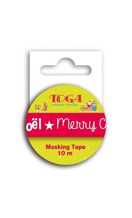 Masking Tape Feliz Navidad -10m