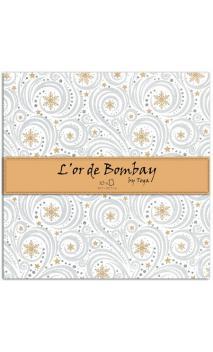 L'Or de Bombay - 10f. Conjunto de 30x30cm Or/Plata