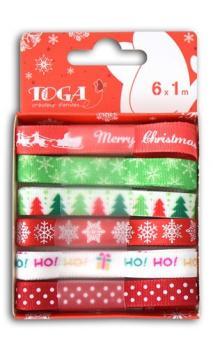 Conjunto de 6 cintas Rojo/verde