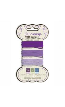 SewEasy Floss - Purples