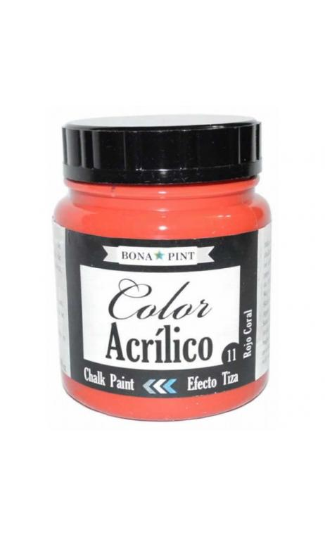 Chalk Paint Bona-Pint Rojo Coral