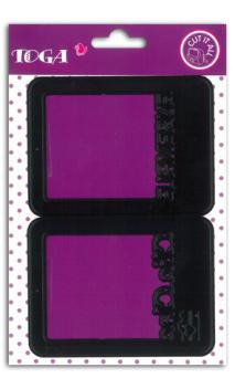 Die's 2 cartes 7,6x10,2  juntos & clic clac