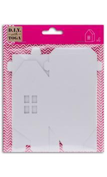 6 casitas Blancas