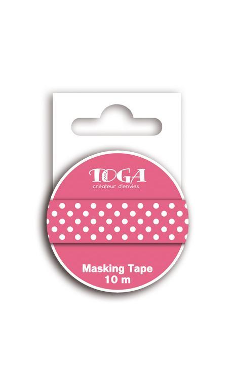 Masking tape topos granadina - 10m