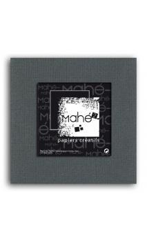 Mahé2-Tintado en masa 30x30 - gris marrón oscuro 1 hoja
