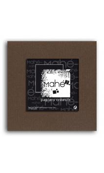 Mahé2-Tintado en masa 30x30 - chocolate 1 hoja - Pack 25 h.