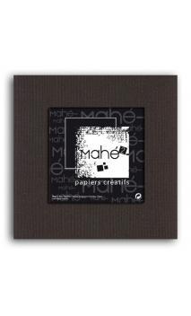 Mahé2-Tintado en masa 30x30 - chocolate negro 1 hoja - Pack 25 h.