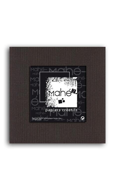 Mahé2-Tintado en masa 30x30 - chocolate negro 1 hoja