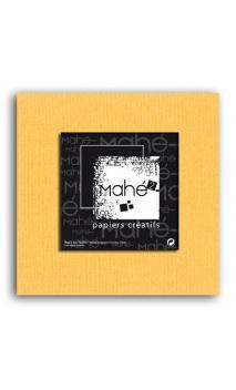 Mahé2-Tintado en masa 30x30 - azafrán 1 hoja - Pack 25 h.
