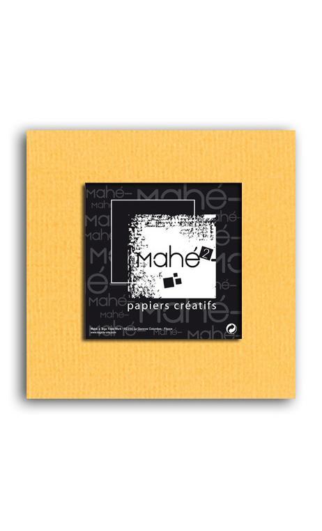 Mahé2-Tintado en masa 30x30 - azafrán 1 hoja
