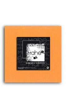 Mahé2-Tintado en masa 30x30 - naranja 1 hoja - Pack 25 h.