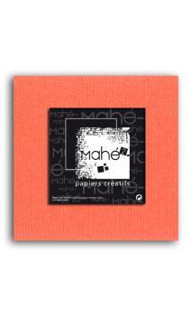 Mahé2-Tintado en masa 30x30 - mandarina 1 hoja