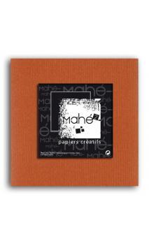 Mahé2-Tintado en masa 30x30 - terracota 1 hoja - Pack 25 h.