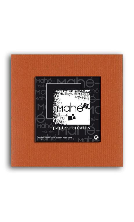 Mahé2-Tintado en masa 30x30 - terracota 1 hoja