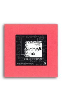 Mahé2-Tintado en masa 30x30 - rosa coral 1 hoja - Pack 25 h.